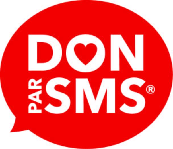 logo don par SMS rouge