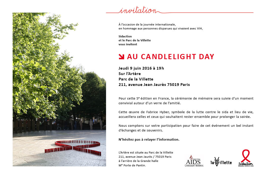 invitation candle light day 2016