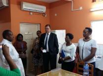 Burundi : mission de suivi et visite du Conseiller Régional en Santé Mondiale de l'Ambassade de France