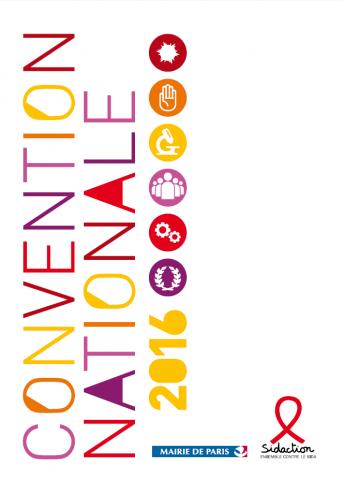 couverture actes de la convention nationale 2016