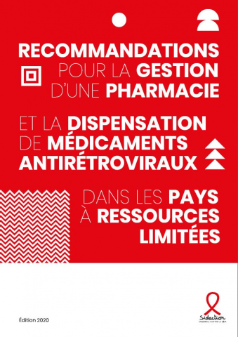 Couverture gestion pharmacie communautaire Sidaction