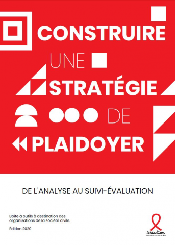 Couverture guide plaidoyer Sidaction