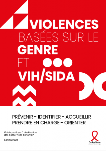 Couverture guide violences basées sur le genre Sidaction