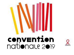 logo de la convention nationale sidaction 2019